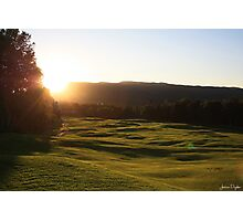 Rolling Fairways Photographic Print