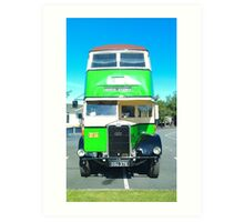 One of the old buses. Art Print