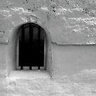 window. 18th century customs house. by Nikolay Semyonov
