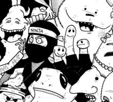 George Clarke - Characters Mar15 Sticker