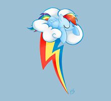 Rainbow Dash - Cutie mark  Womens Fitted T-Shirt