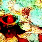 Eye of the Dragon - Abstract Art by Renee Dawson