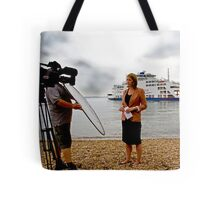 The BBC Alex Forsyth Live News Feed Tote Bag