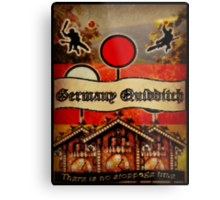 New Germany Quidditch Metal Print
