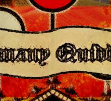 New Germany Quidditch Sticker