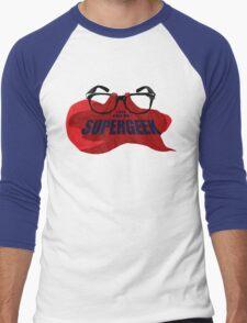 Super Geek Men's Baseball ¾ T-Shirt