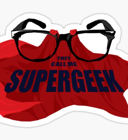 Super Geek Sticker