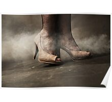 brown shoes Poster