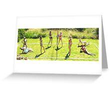 Fantasy Beach Volleyball Greeting Card