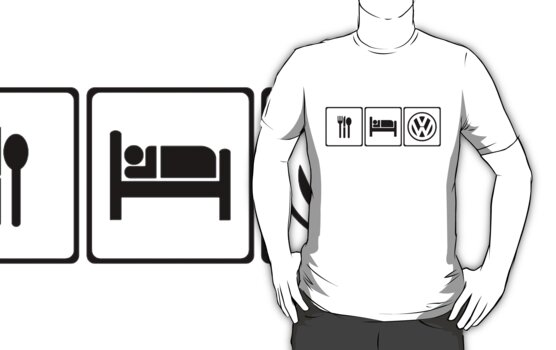 EAT SLEEP VW by thatstickerguy