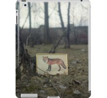 Little fox iPad Case/Skin
