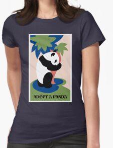 Fun retro adopt a panda T-Shirt