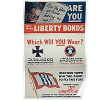 Help our town win the right to fly this flag Honor flag 3rd Liberty Loan awarded by the United States Treasury Department to towns exceeding their quota Poster