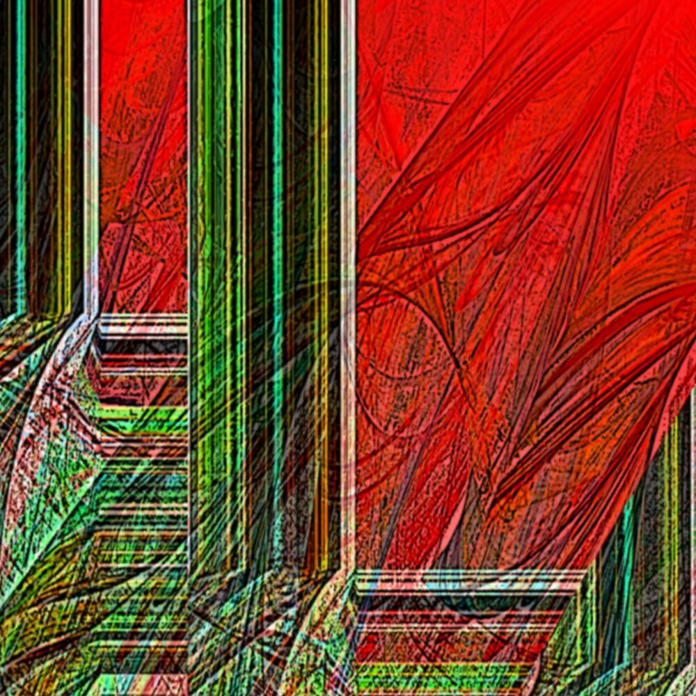 Cerebral Network - Detail by Benedikt Amrhein