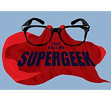 Super Geek Photographic Print