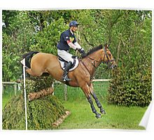 William Fox-Pitt riding Avoca Alibi Poster