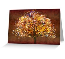Starry tree'... Greeting Card