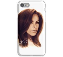 Aaliyah Haughton-WBG iPhone Case/Skin