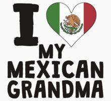 I Heart My Mexican Grandma Baby Tee