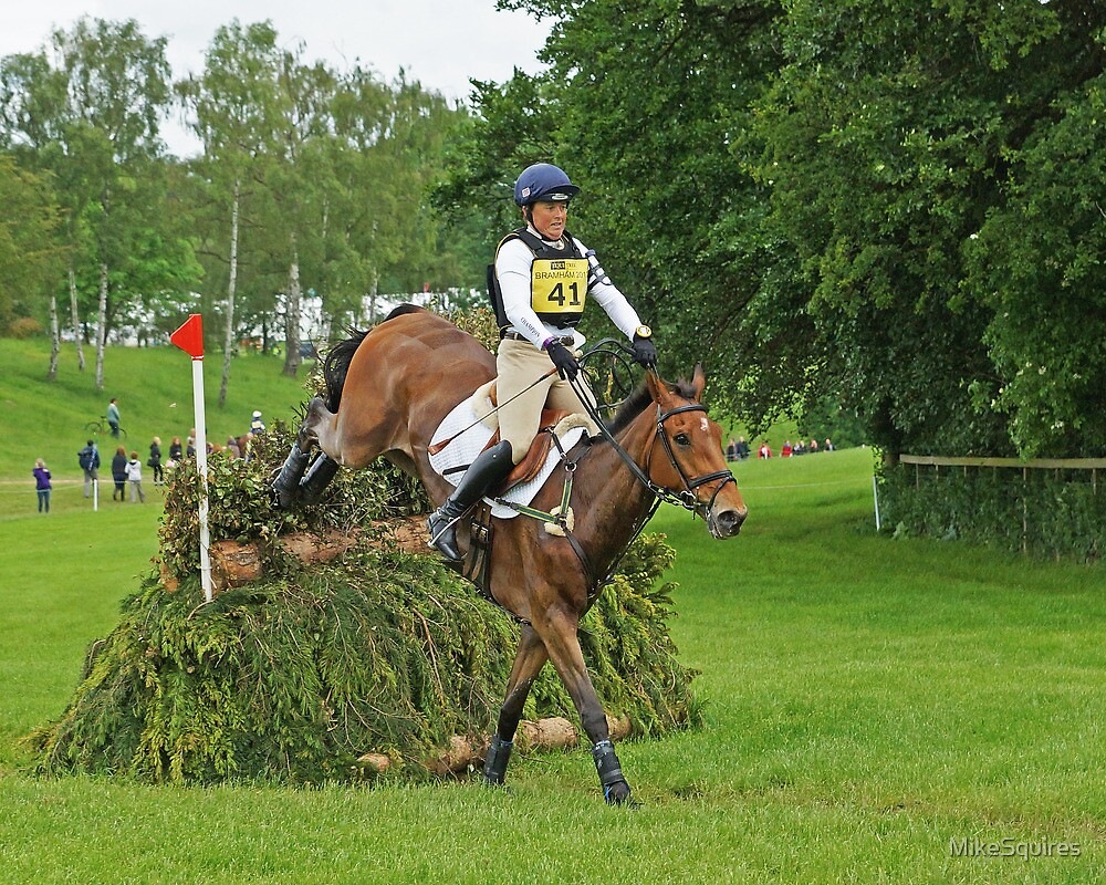Pippa Funnell riding Mirage D'Elle by MikeSquires