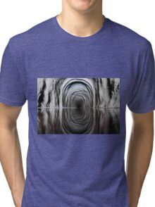 Obscure tunnel Tri-blend T-Shirt