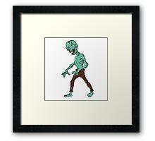 Lame Zombie Framed Print