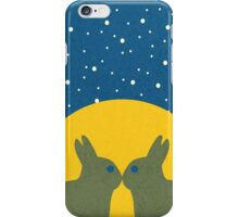 The Rabbit's Kiss iPhone Case/Skin