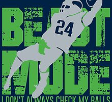 Beast Mode- Seattle Football. by sports-tees