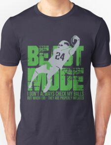 Beast Mode- Seattle Football. T-Shirt