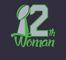 Seahawks 12th Woman. Unisex T-Shirt