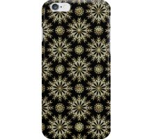 Black Gold And Diamonds -Abstract Stars Pattern iPhone Case/Skin