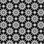 Black And White -Abstract Stars Pattern by artonwear