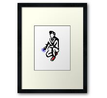 10th Doctor Ink Framed Print