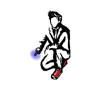 10th Doctor Ink Photographic Print