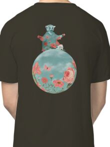 Coral Flowers and Turquoise Sky Classic T-Shirt