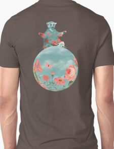 Coral Flowers and Turquoise Sky Unisex T-Shirt