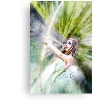 Alexis The Elf Hunter Canvas Print