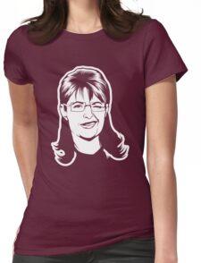 Palin Winker Womens Fitted T-Shirt