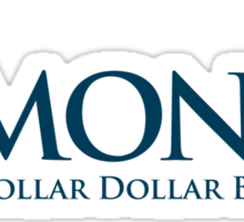 R-Money: Dollar Dollar Bill Y'all Sticker