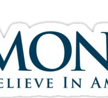 R-Money: Believe in Amercia Sticker