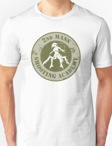 2nd Mass Shooting Academy Sticker T-Shirt