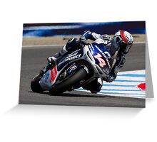Randy De Puniet at laguna seca 2012 Greeting Card