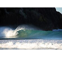 Afternoon light at Zenith Beach Photographic Print