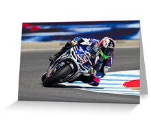 Aleix Espargaro at laguna seca 2012 Greeting Card