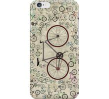 Love Fixie Road Bike iPhone Case/Skin