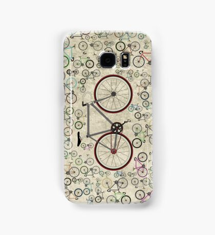 Love Fixie Road Bike Samsung Galaxy Case/Skin