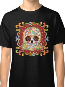 Colorful Day of the Dead Sugar Skull Shirt Classic T-Shirt