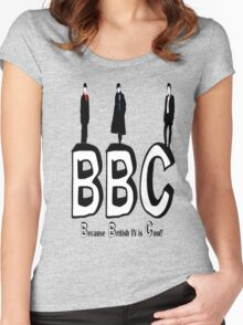 BBC Fandom Women's Fitted Scoop T-Shirt