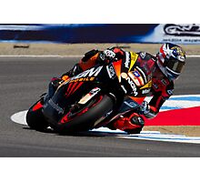 Colin Edwards at laguna seca 2012 Photographic Print