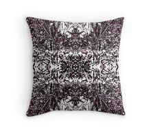 Spiky and White Throw Pillow